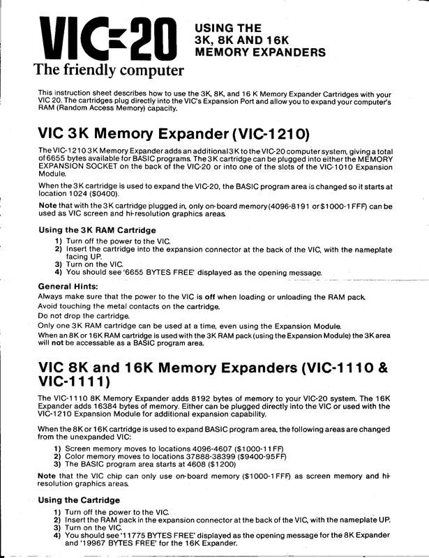 VIC-20 Manual Expansion de RAM 200i BW 0001.jpg