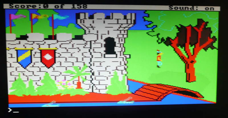 31 - King's Quest 1 - playing 1st screenred.jpg
