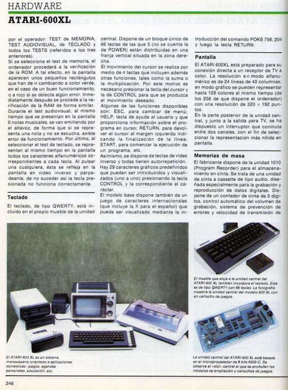 Atari 8 Bit 400 800 Xl Xe Retrowiki Cacharreo Rw